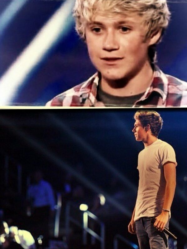 BUT GUYS THAT IS THE SAME EXACT STAGE HE AUDITIONED ON