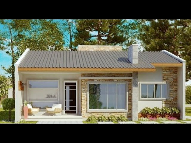 Resultado de imagen para fachadas de casas sencillas en for Planos de casas sencillas