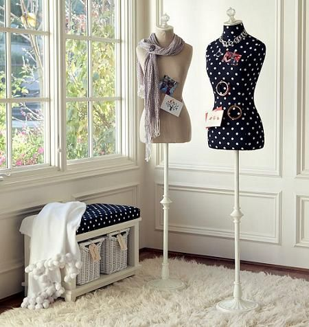 Decorative Vintage Mannequins