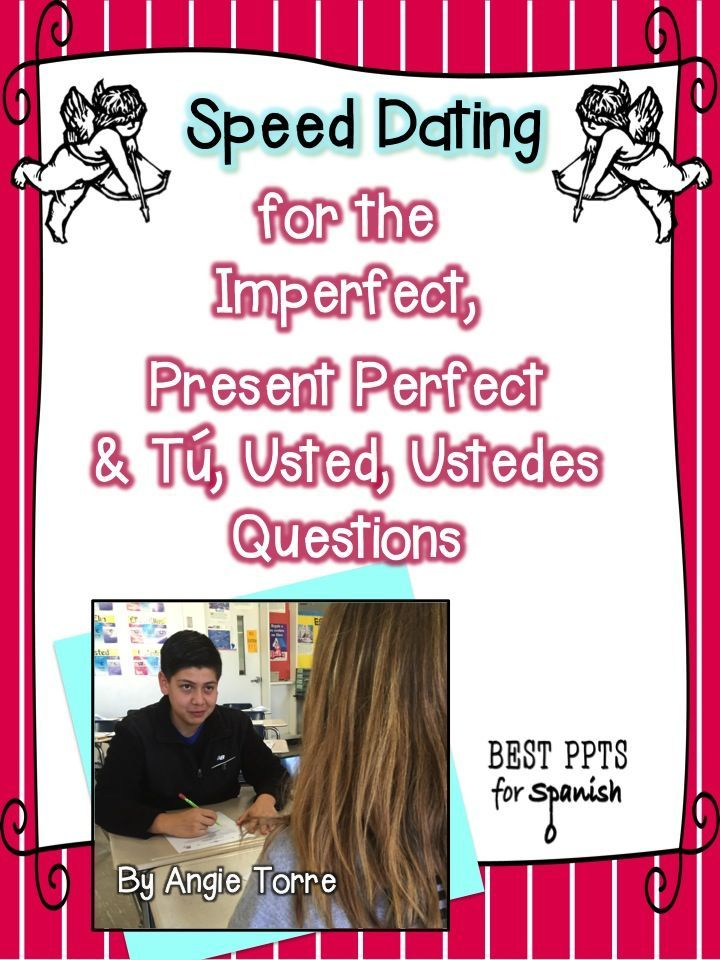 high school speed dating questions