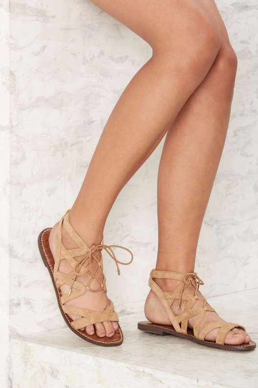 Sam Edelman Gemma Gladiator Sandal - Tan - What s New  43fa8fa31