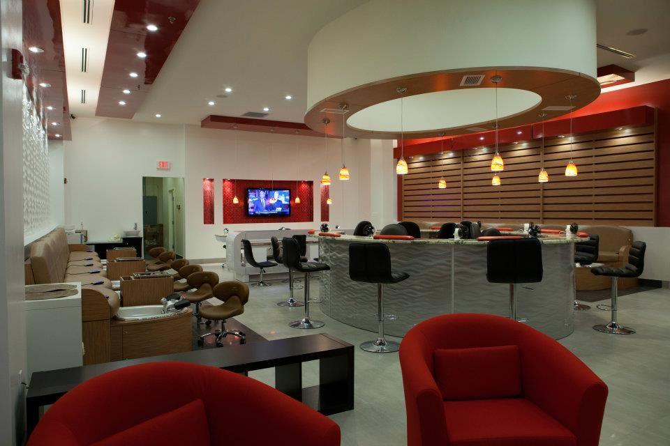 Best Nail Salon Interior Design | Pierre Jean-Baptiste Interiors ...