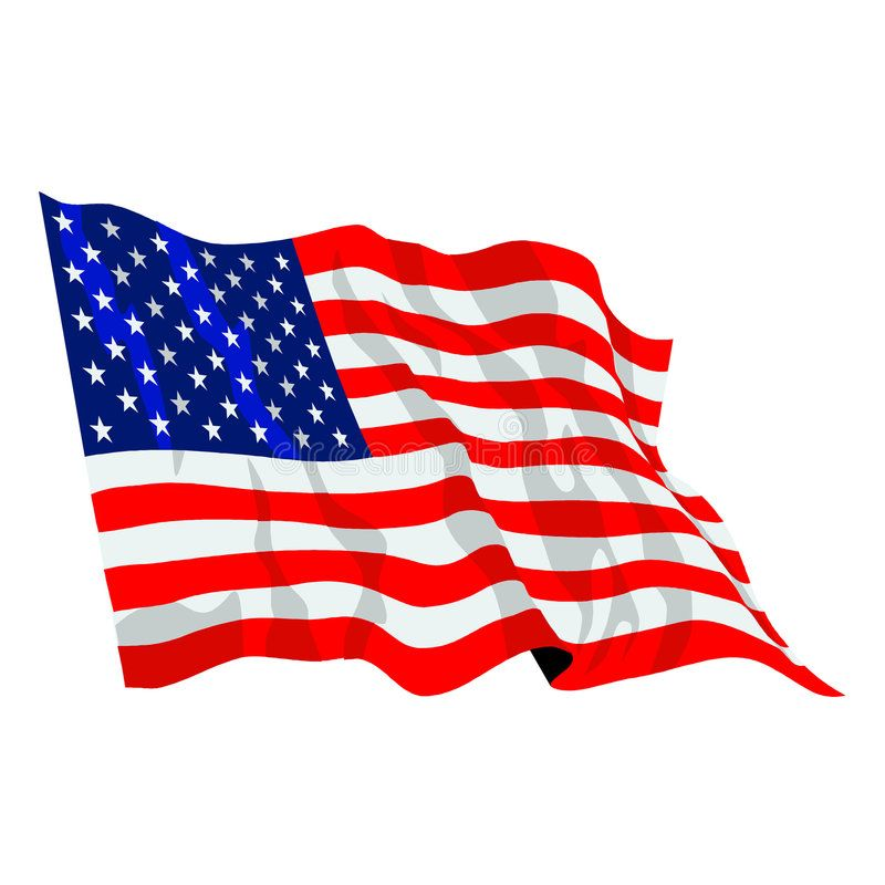 American Flag Illustration United States Of America Usa Flag Waving Vector For Affiliate United States Illustration American Flag Flag Illustration