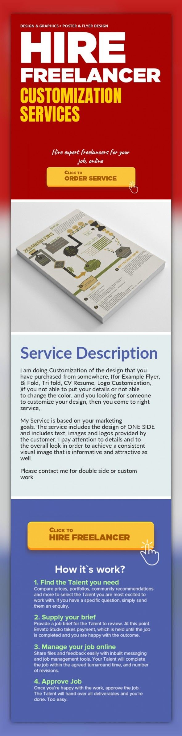 Customization Services Design  Graphics Poster  Flyer Design I