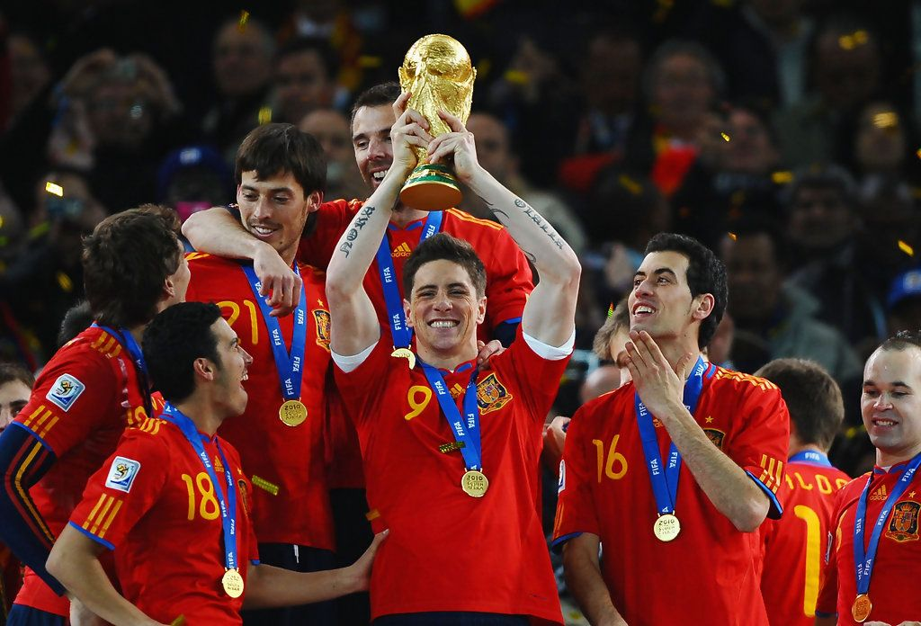 Fernando Torres Photos Photos Netherlands V Spain 2010 Fifa World Cup Final World Cup Trophy Fifa World Cup Fifa