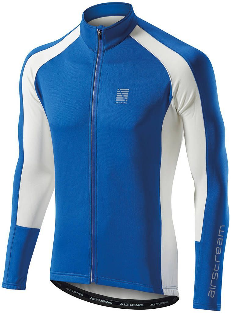 Altura Airstream Long Sleeve Cycling Jersey Blue (3637