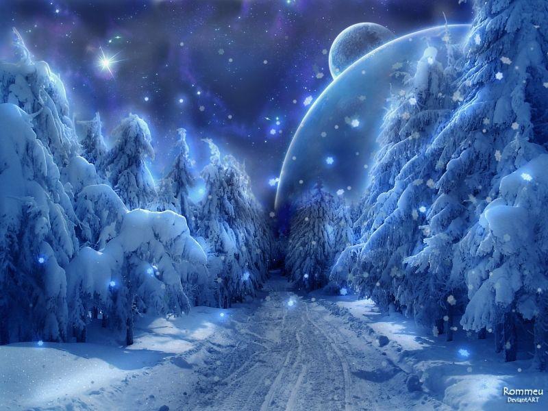 Winter Snow Fantasy Path Jpg 800 600 Fantasy Landscape Fantasy Art Landscapes Winter Snow Wallpaper