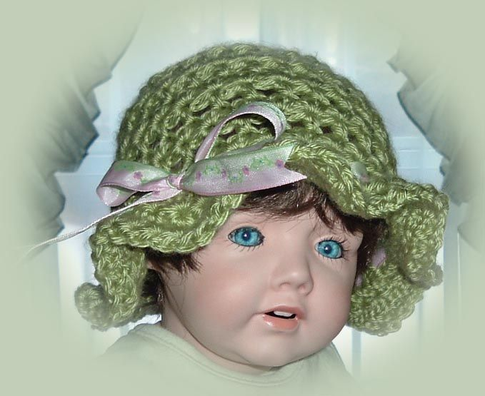 Ruffled Star Stitch Hat - pattern coming soon.