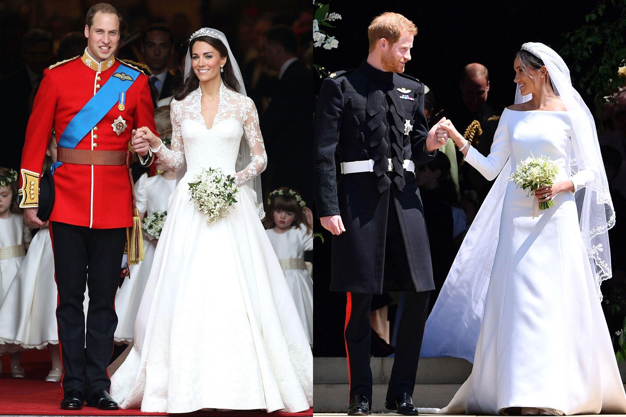 La robe de mariée de Meghan Markle par Clare