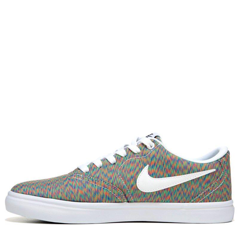 Nike Women s Nike SB Check Solar Canvas Skate Shoes (Multi) - 6.0 D ... b52194c77