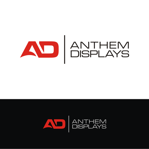 Anthem Displays Logo For Anthem Displays Manufacturer Of Giant Format Outdoor Led Screens We Make Full Color Giant Form Geometric Logo Creative Logo Logos