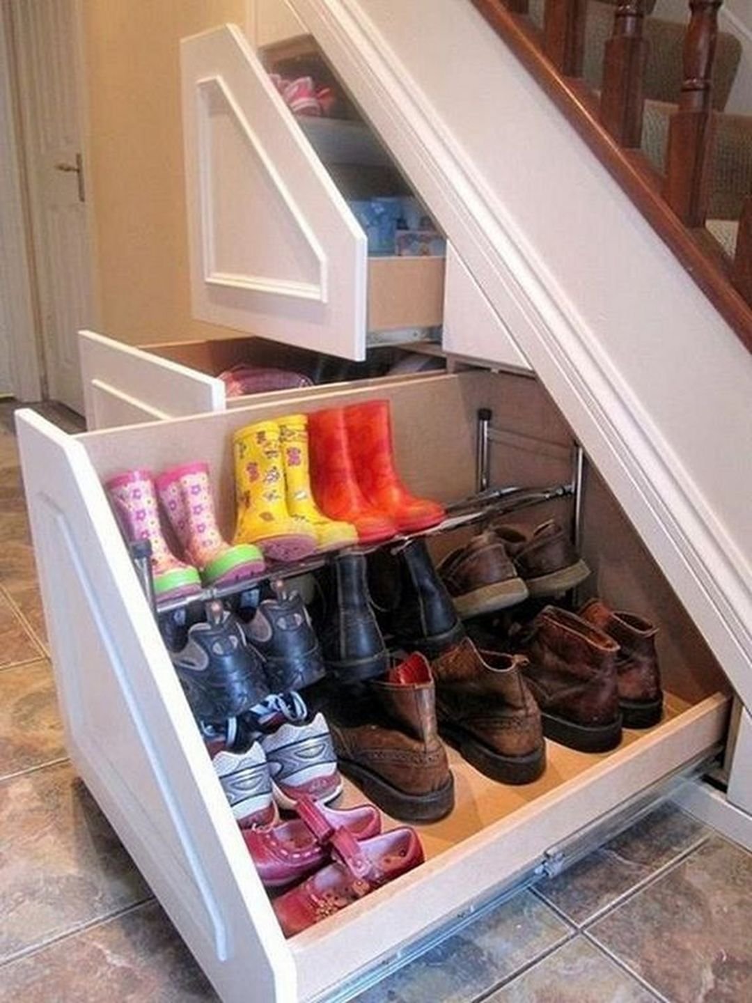 17 Brilliant Shoes Storage Ideas On A Budget Closet Under Stairs