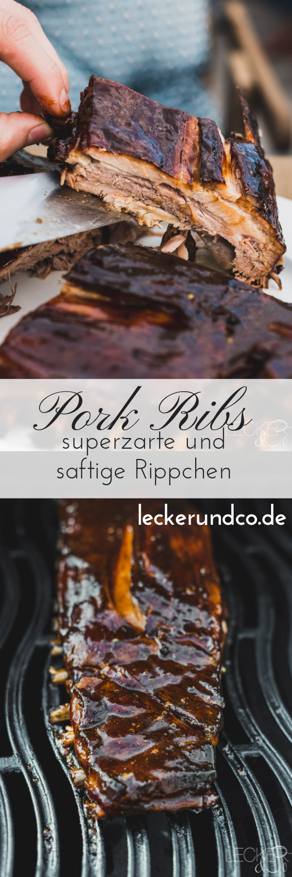 Photo of Super tender and juicy ribs LECKER & Co | Food blog from N …