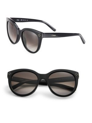ccaf60fd581f CHLOÉ Boxwood 55Mm Cat S-Eye Sunglasses.  chloé  sunglasses