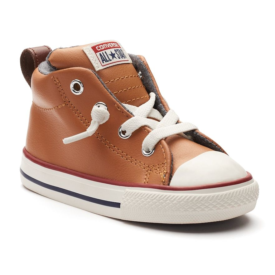 64c5a1b26612 Toddler Converse Chuck Taylor All Star Street Mid Leather Sneakers ...