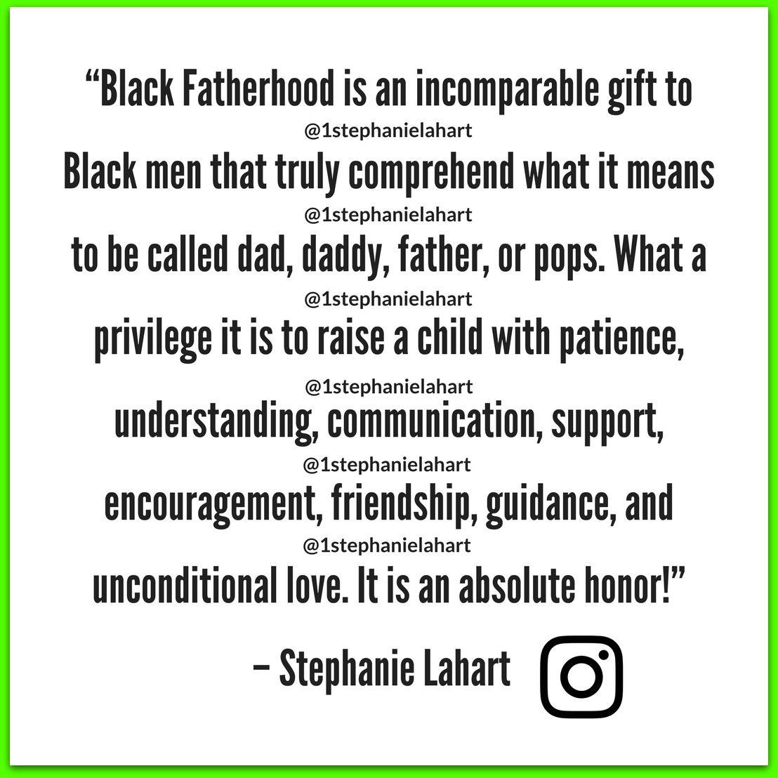 BlackFatherhood365Quotes Men's TShirt Fatherhood