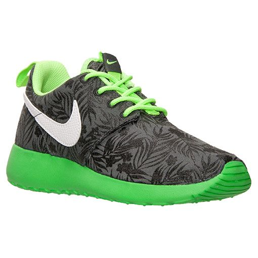 Boys Preschool Nike Roshe One Print Casual Shoes - 677782P 003  Finish  Line