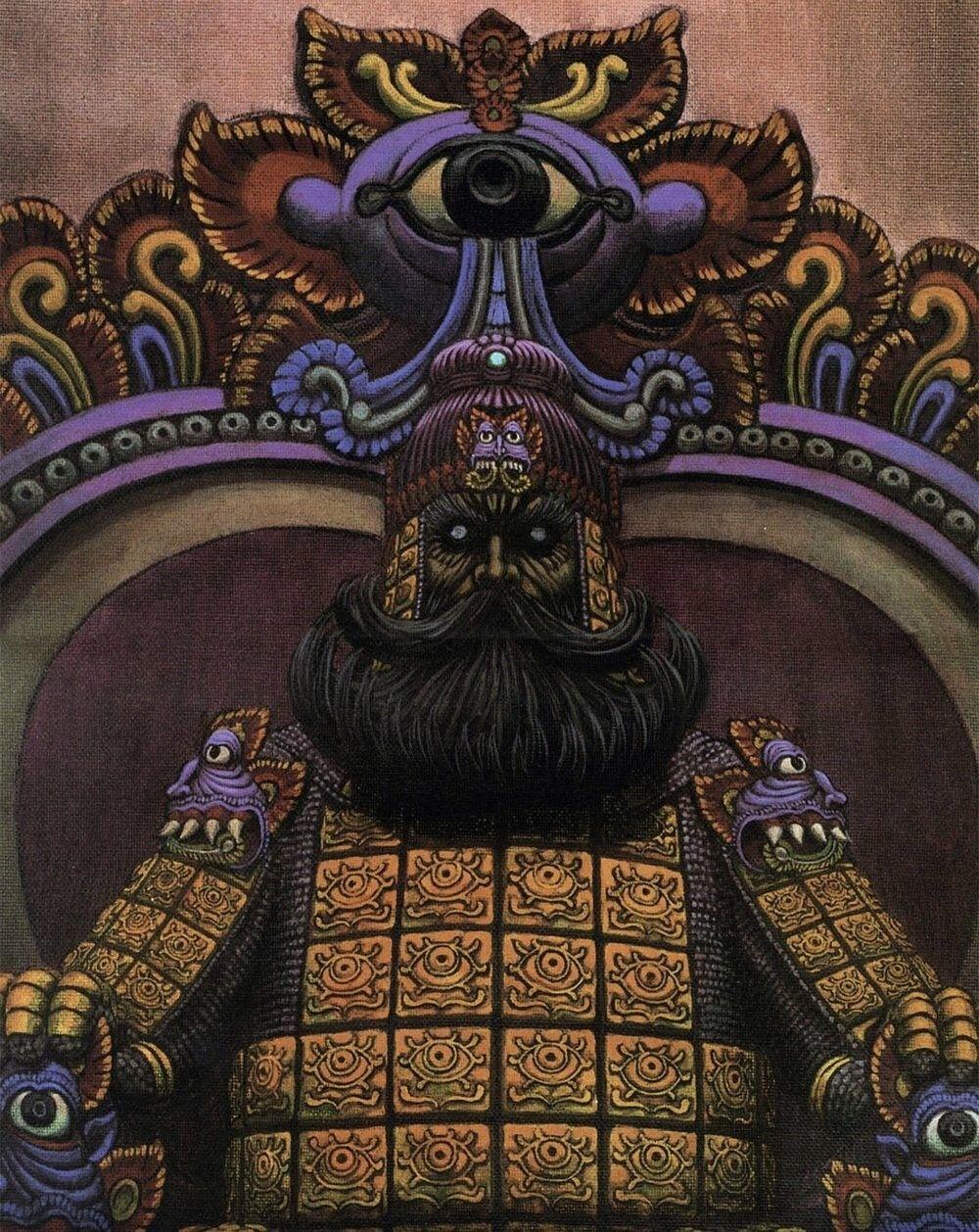 Épinglé par Shiroyasha sur Berserk Illustrations, Empereur