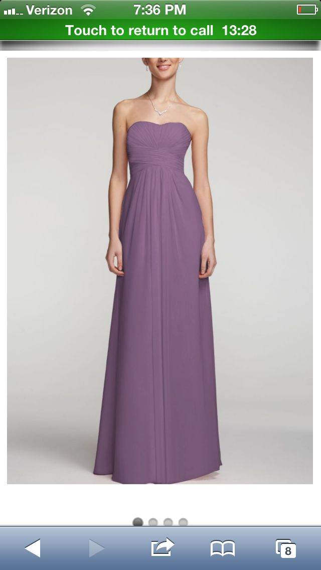 Wisteria David\'s bridal | Bridesmaid dress favorites | Pinterest