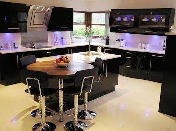 Decoracion Hogar #cocina #moderna y sofisticada #purple