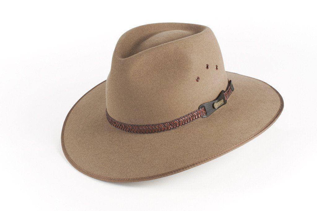 Akubra Cattleman Filzhut aus Australien Sand