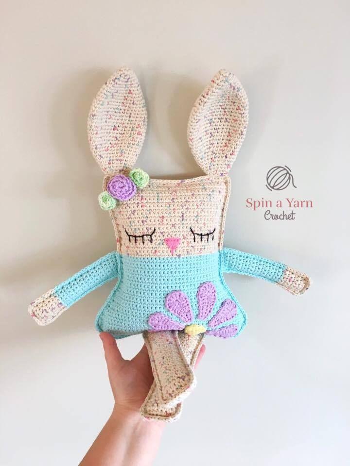 Ragdoll Spring Bunny Free Crochet Pattern | Patrones amigurumi y ...