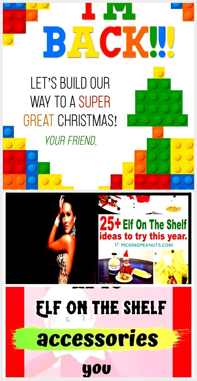 Latest Free of Charge Free Printable Elf on the Shelf Lego