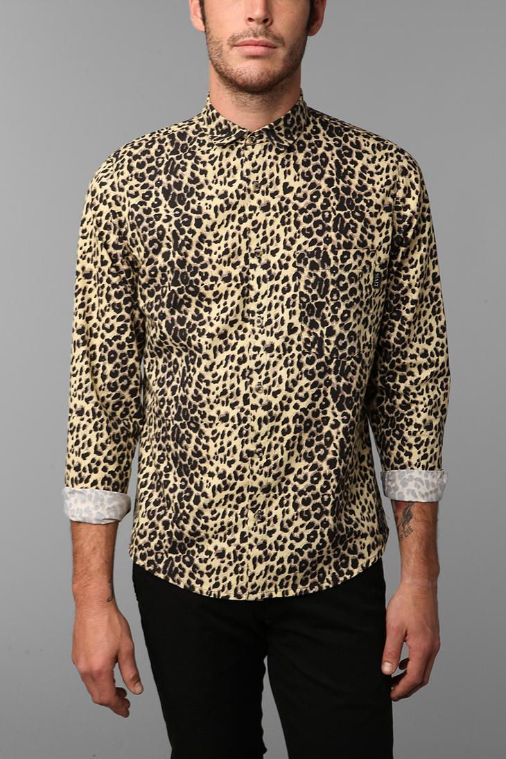 4f06e5a24b Civil Cheetah Print Shirt http   www.urbanoutfitters.com urban