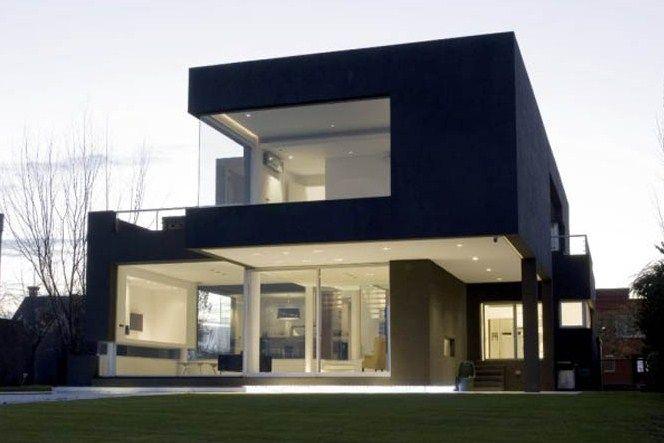 Fachadas de casas bonitas modernas arquitectura for Arquitectura de casas modernas