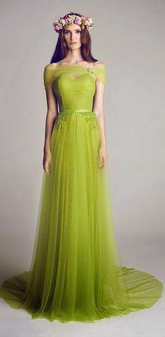 c46b8027a Verde olivo. Verde olivo Vestidos De Fiesta ...