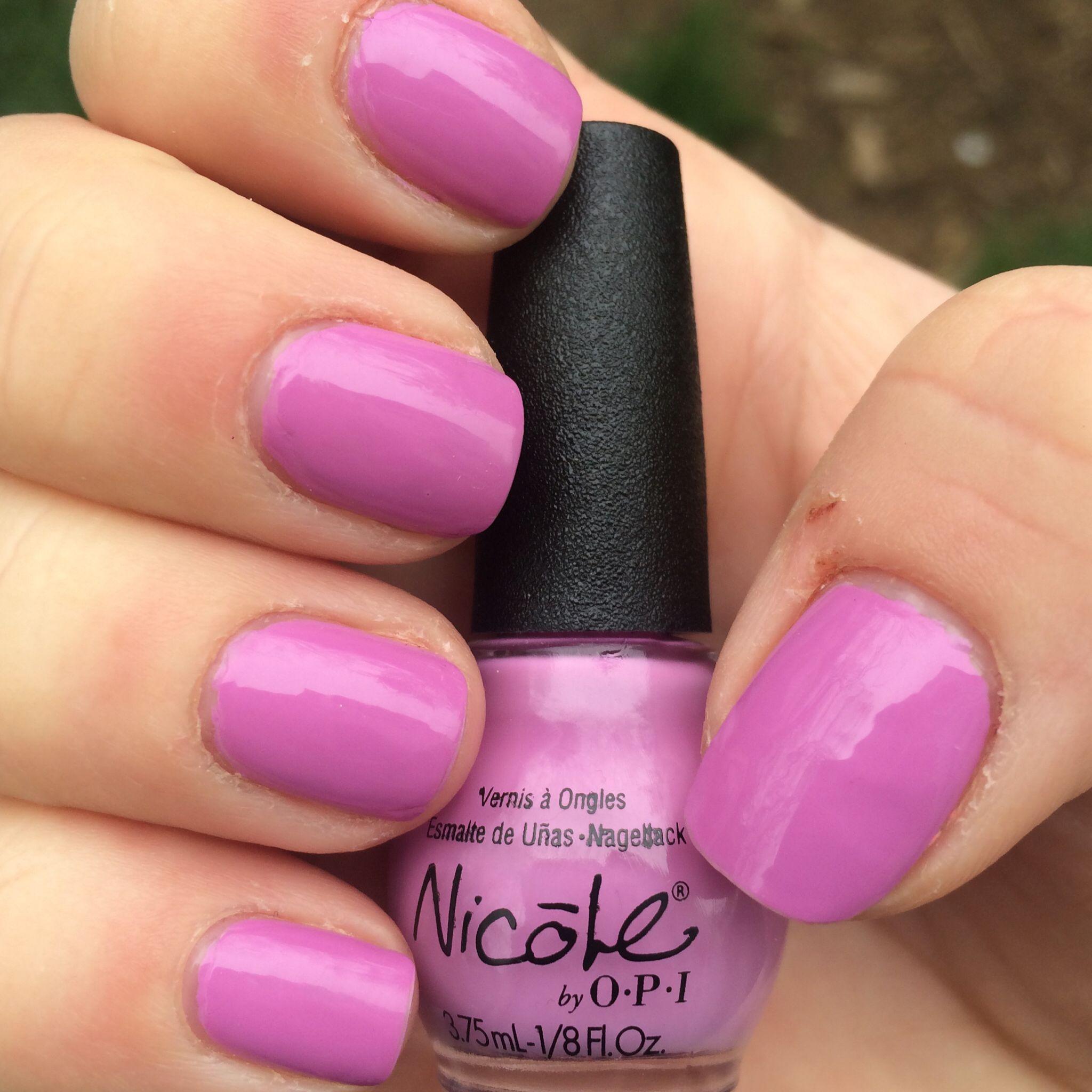 98. Nicole by OPI: Get A Mauve On #Nails #NailSwatch #NicolebyOPI ...