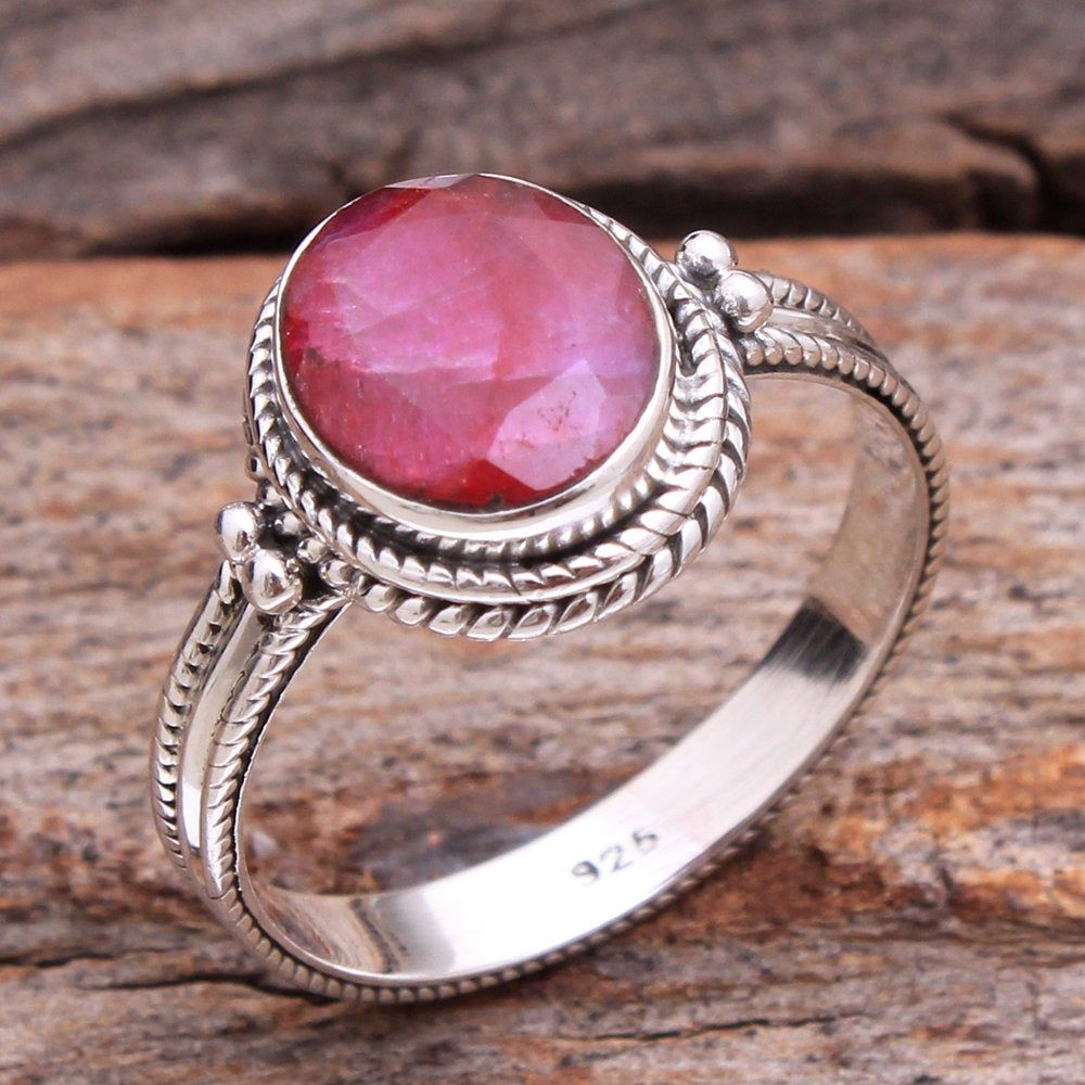 STYLISH STERLING SILVER RING SOLID 925 HANDMADE QUALITY