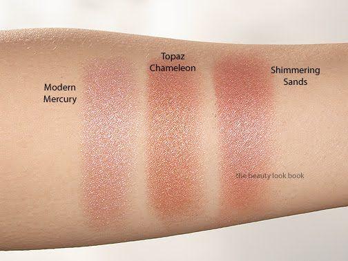 The Beauty Look Book: Estée Lauder Pure Color Illuminating Powder Gelée: Topaz Chameleon and Shimmering Sands