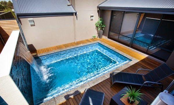 Os traigo un monton de buenos ejemplos para poner una piscina en un