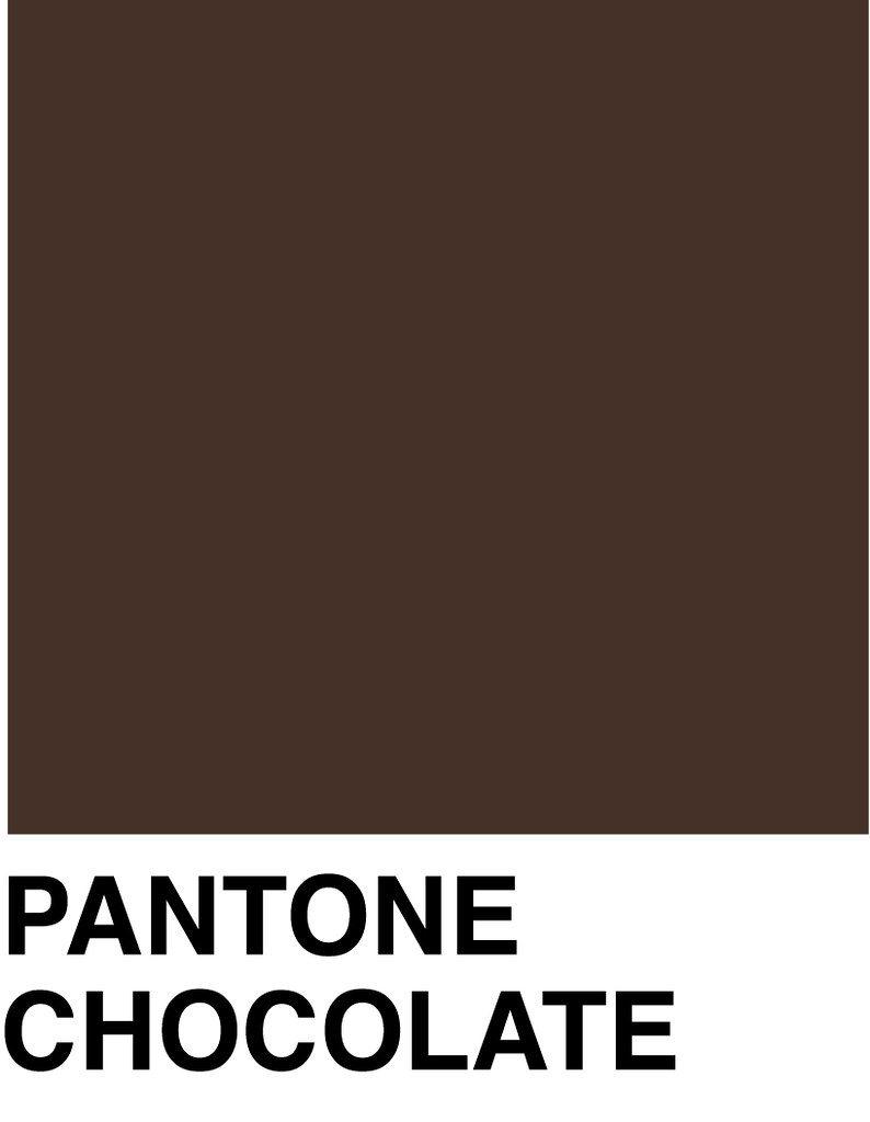 Chocolate Color Swatch Pantone Colour Palettes Dark Chocolate Color Brown Pantone