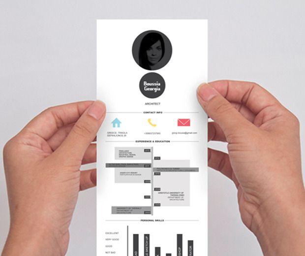 초보블로그닷컴! :: 디자이너들의 이력서는 다르다