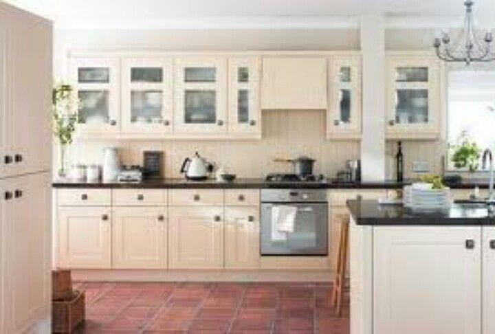 Country kitchen with terracotta floor | Floor | Pinterest ...