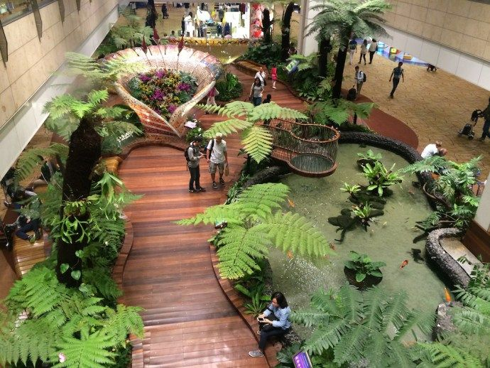 Best Things To Do At Singapore Changi Airport On A 3 To 12 Hour Layover Singapore Changi Airport Singapore Indoor Waterfall