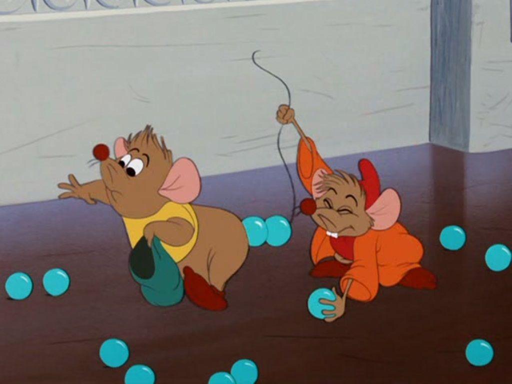gus et jack les souris de cendrillon