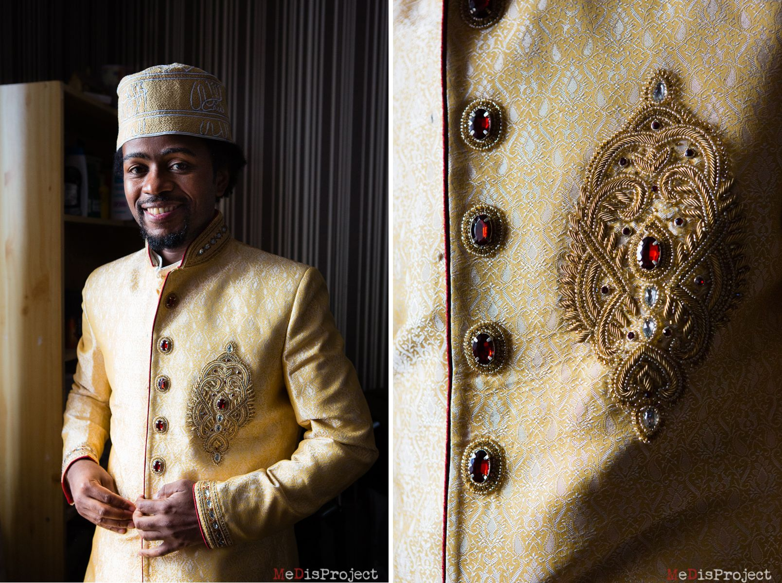 Traditional tunisian wedding dress  the groom traditional Comoros islands dress  Comoros Islands