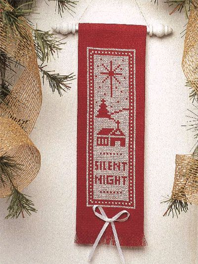 Christ ornamentbookmark backstitchblackwork
