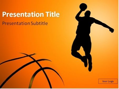Need Free Powerpoint Template For Your Basketball Presentation We