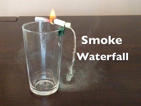Wasserfall aus Rauch - YouTube