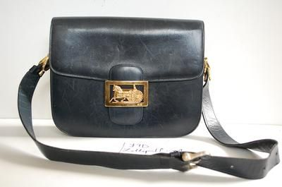 6bc7fd6ae2 Vintage Celine box bag on sale at Lollipuff!