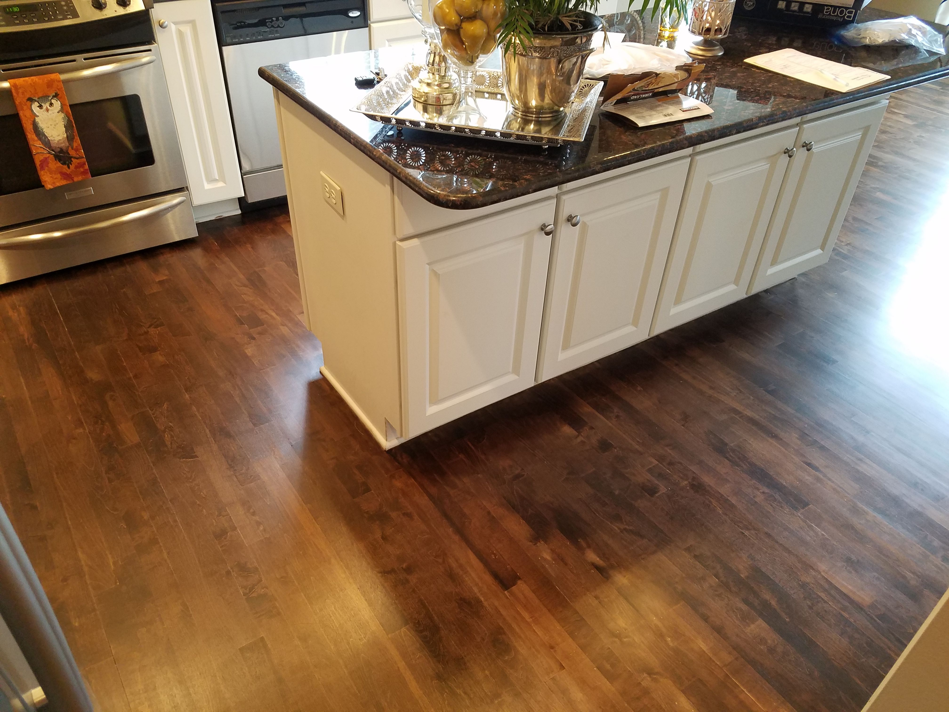 Antique Maple Stain Hardwood Refinish Welcome To Floor Coverings