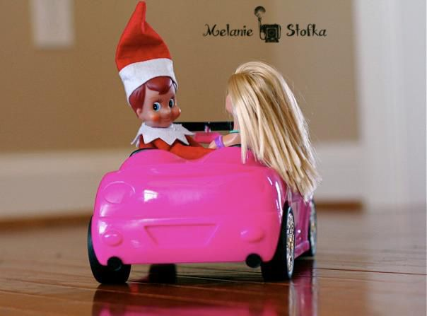 Elf On The Shelf Dating Barbie