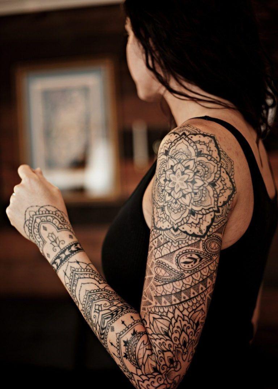 24 Henna Tattoos By Rachel Goldman You Must See: 30 Mandala Tattoo Designs To Get Inspired