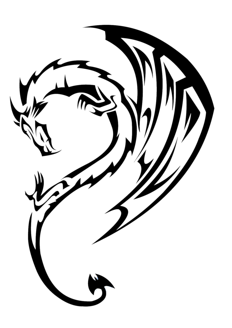 Simple Tattoo Png : simple, tattoo, Dragon, Tattoos, Transparent, Images, Tattoo, Drawing,, Tattoo,