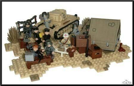 Lego WW2 German HQ