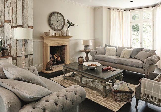 living room style ideas, modern country sitting room | Modern ...